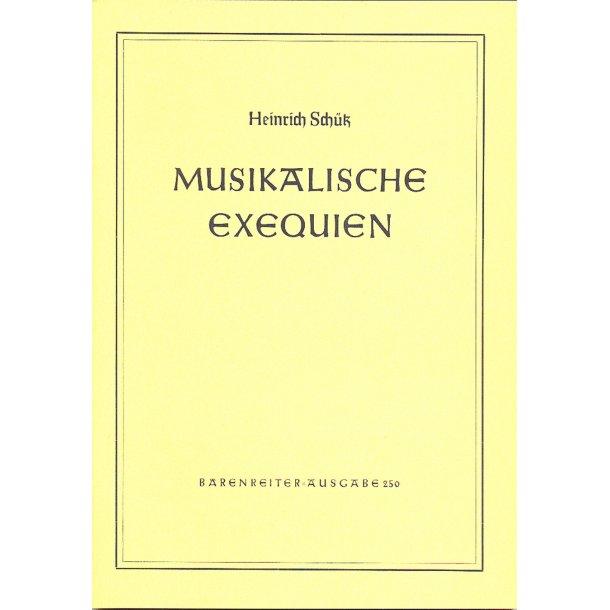 Musikalische Exequien - Schütz, Heinrich