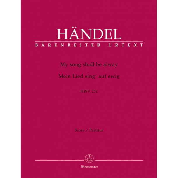 My song shall be alway - Händel, Georg Friedrich