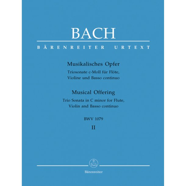 Musical Offering - Bach, Johann Sebastian