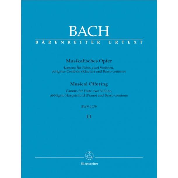 Musical Offering - Bach, Johann Sebastian