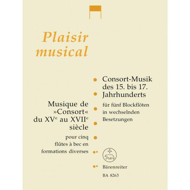 Musique de Consort du XVe au XVIIe siÞcle -