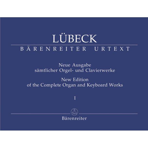 New Edition of the Complete Organ and Keyboard Works - Lübeck, Vincent (Senior) / Lübeck, Vincent (Junior)