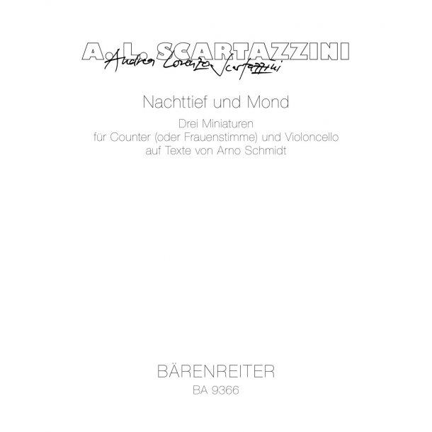 Nachttief und Mond - Scartazzini, Andrea Lorenzo