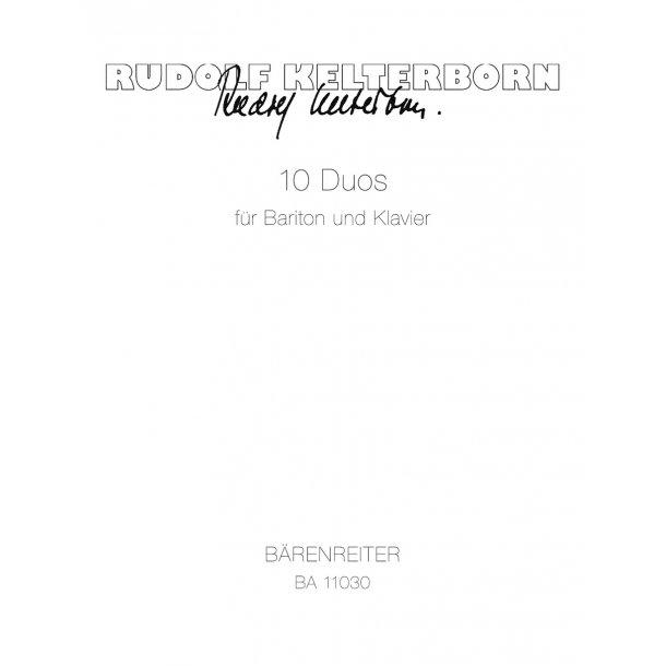 10 Duos - Kelterborn, Rudolf