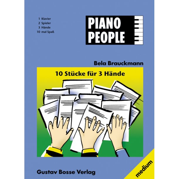 10 Stücke für 3 Hände - Brauckmann, Bela