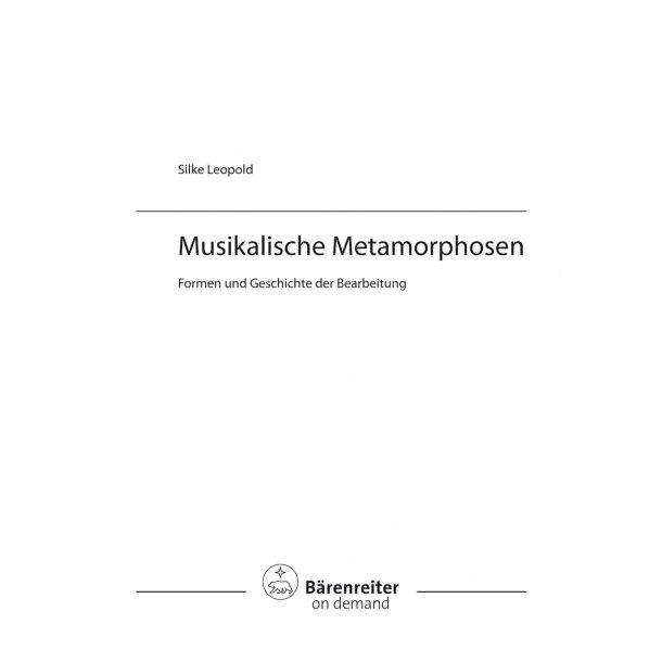 Musikalische Metamorphosen -
