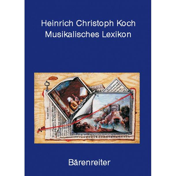 Musikalisches Lexikon - Koch, Heinrich Christoph