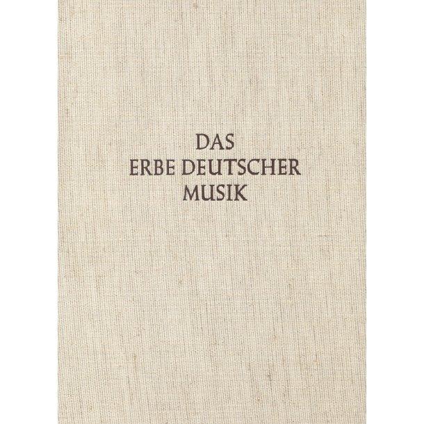 Musicalische Frühlings-Früchte und Hamburger Handschrift. Das Erbe Deutscher Musik V/10 - Becker, Diederich