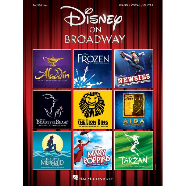 Disney On Broadway - 2nd Edition