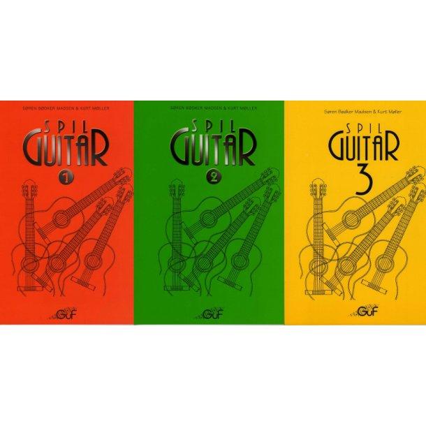 Pakketilbud på Spil Guitar 1, 2 og 3