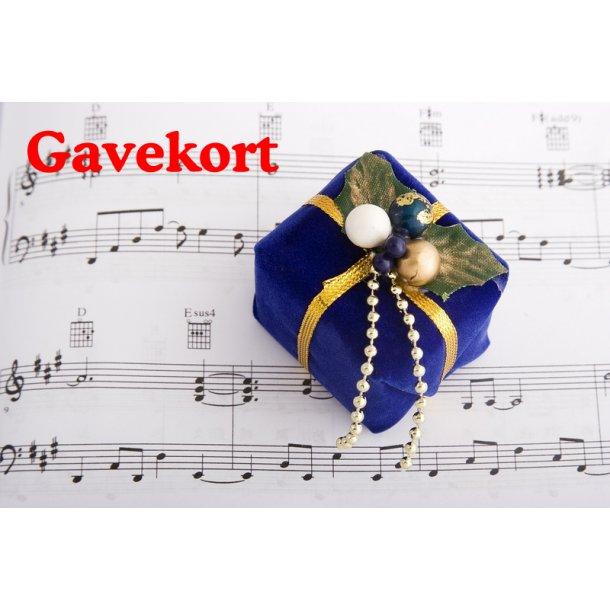 Gavekort til Stepnote.dk