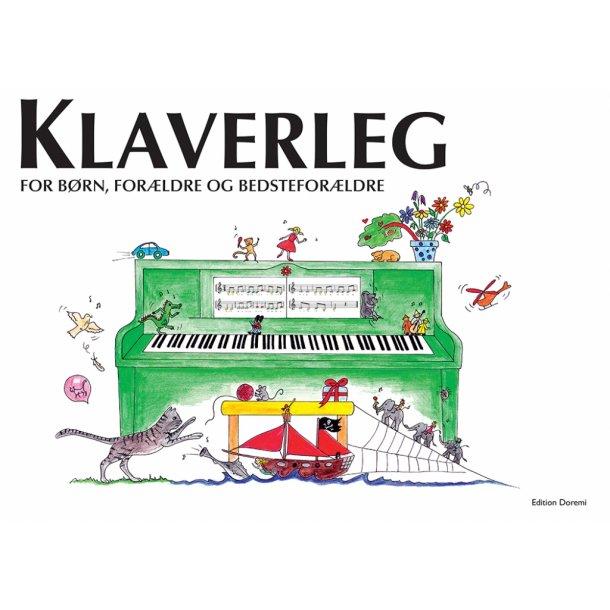 Klaverleg 1 - Klaverbog for børn, forældre og bedsteforældre