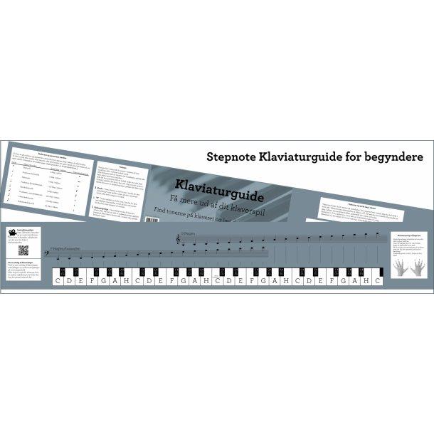 Klaviaturguide for begyndere - find rundt på klaveret - inkl teori og Youtube-guide