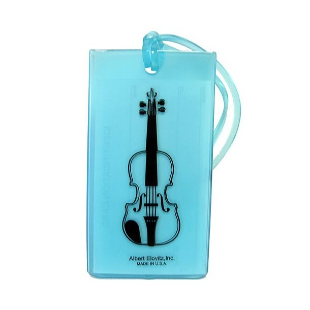Musical Instrument Identification Tag - Violin