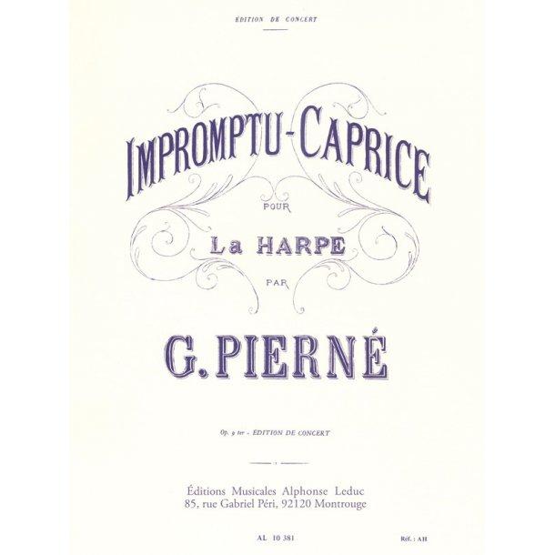 Gabriel Pierné: Impromptu-Caprice Op.9 (Harp Solo)