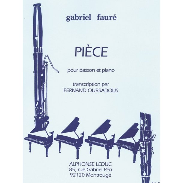 Gabriel Fauré: Pièce