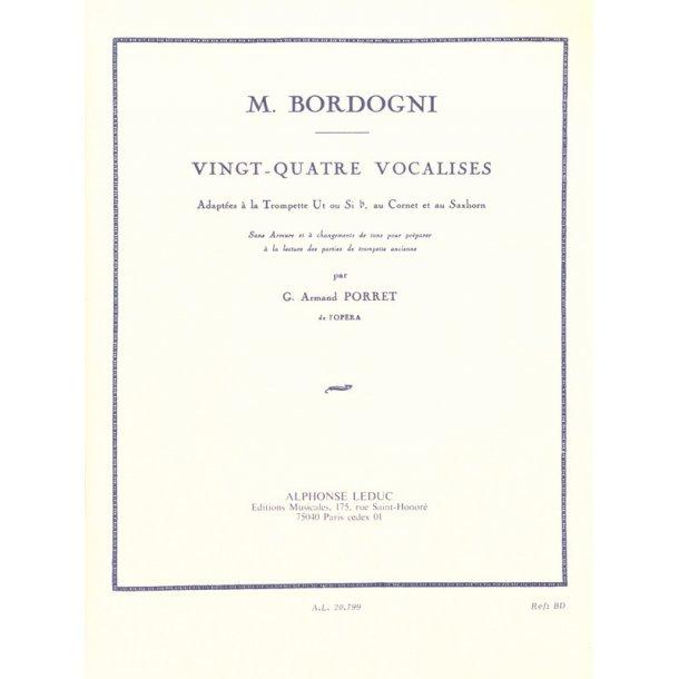 Giulio Marco Bordogni: 24 Vocalises (Trumpet Solo)