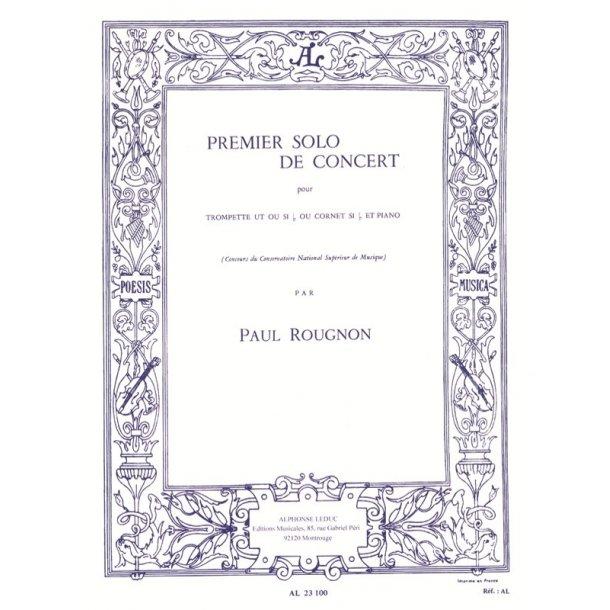 Paul Rougnon: Solo de Concert No.1 (Trumpet & Piano)