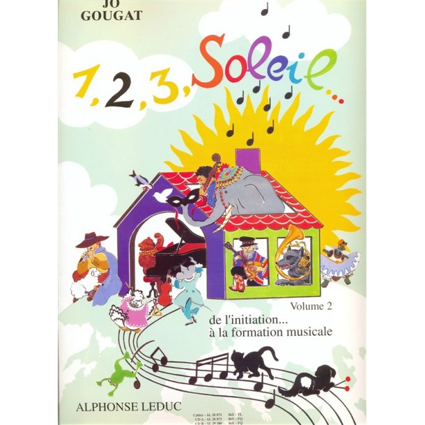 1, 2, 3, Soleil... de l'initiation à la formation musicale vol 2/3 2CD