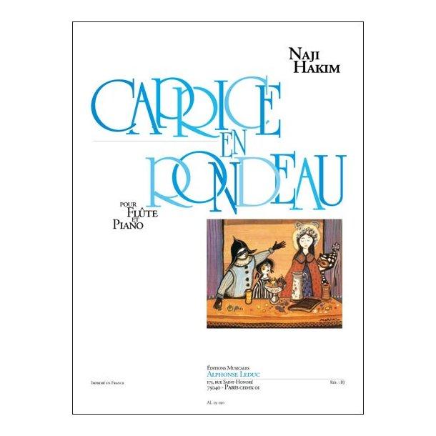 Naji Hakim: Caprice en Rondeau (Flute & Piano)
