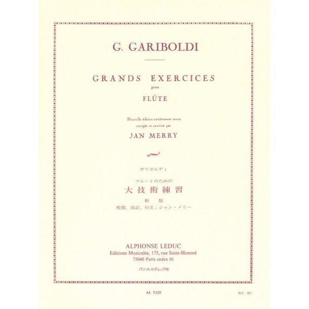 Giuseppe Gariboldi: Grands Exercices Op.139 (Flute solo)