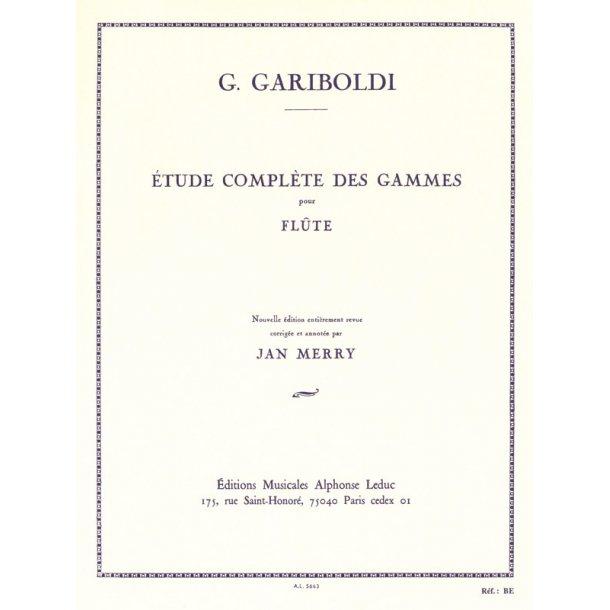 Giuseppe Gariboldi: Etude complète des Gammes Op.127 (Flute solo)
