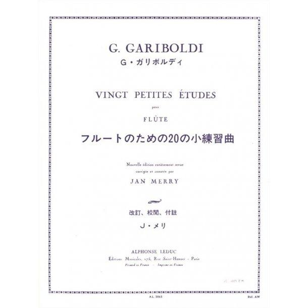 Giuseppe Gariboldi: 20 Petites Etudes Op.132 (Flute solo)