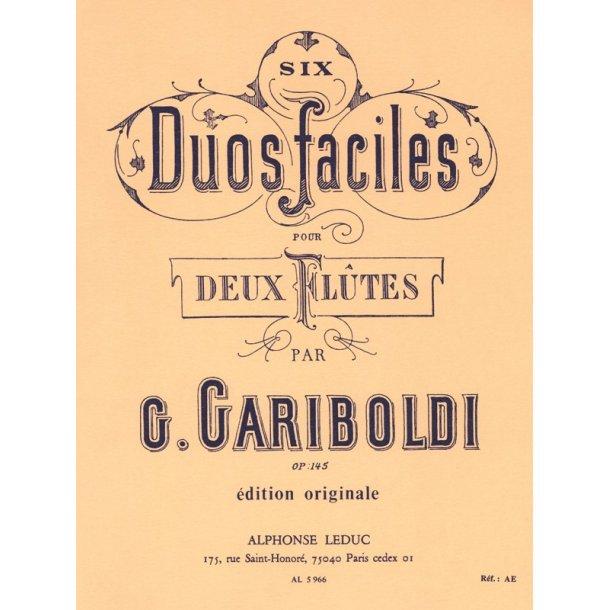 Giuseppe Gariboldi: Duos gradués Op.145 (Flutes 2)