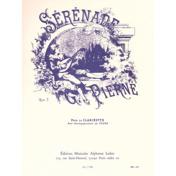 Gabriel Pierné: Sérénade Op.7 (Clarinet)