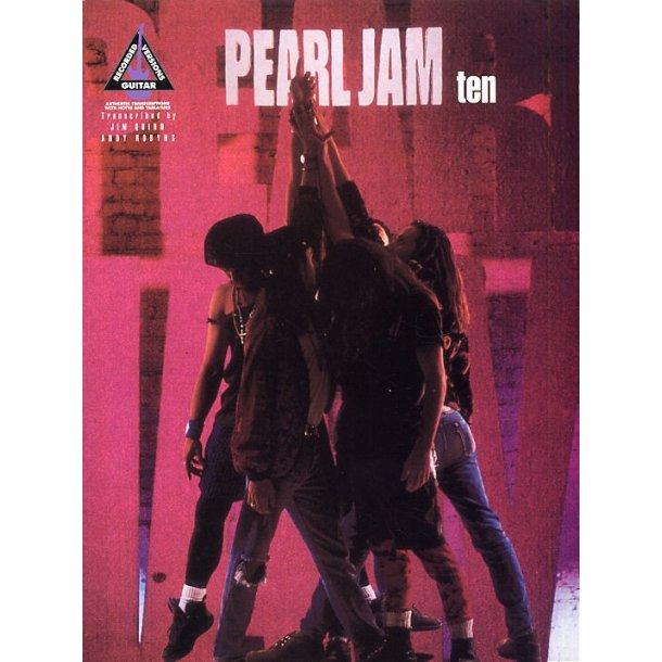 Pearl Jam: Ten Guitar Recorded Versions