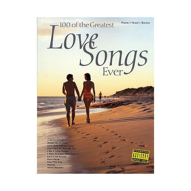 100 greatest love songs: