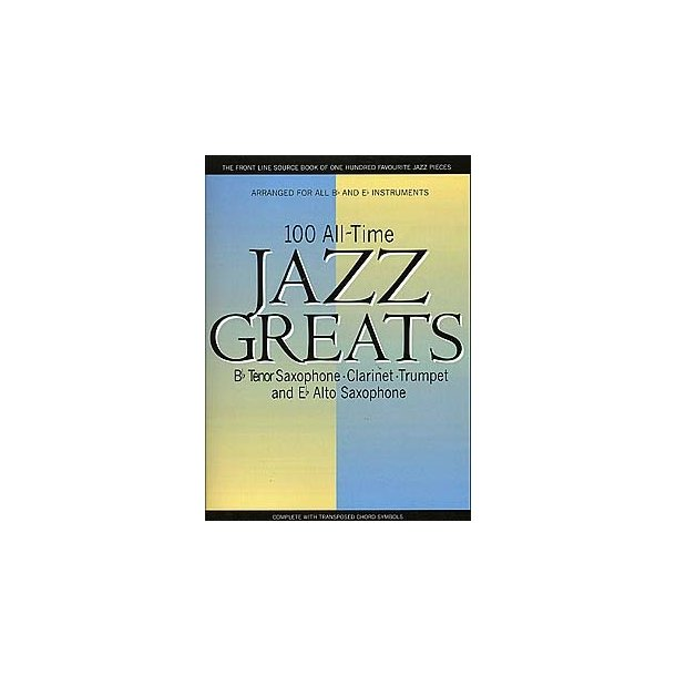 100 All Time Jazz Greats