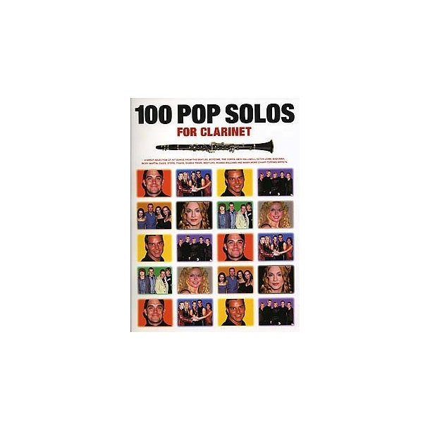100 Pop Solos For Clarinet