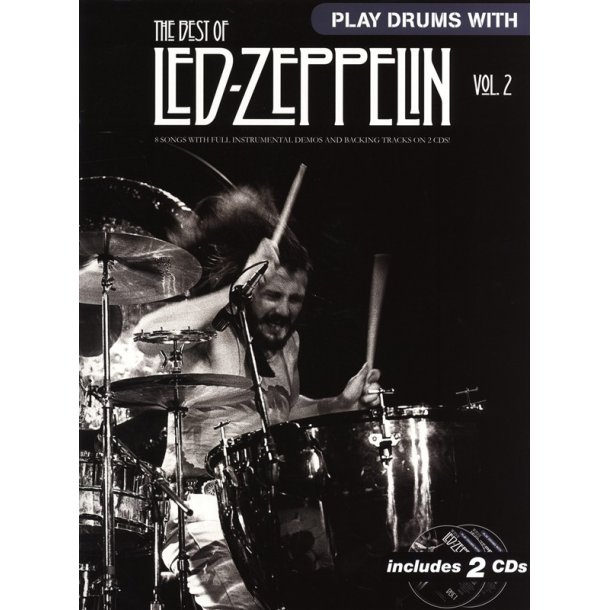 Play Drums With    The Best Of Led Zeppelin - Volume 2