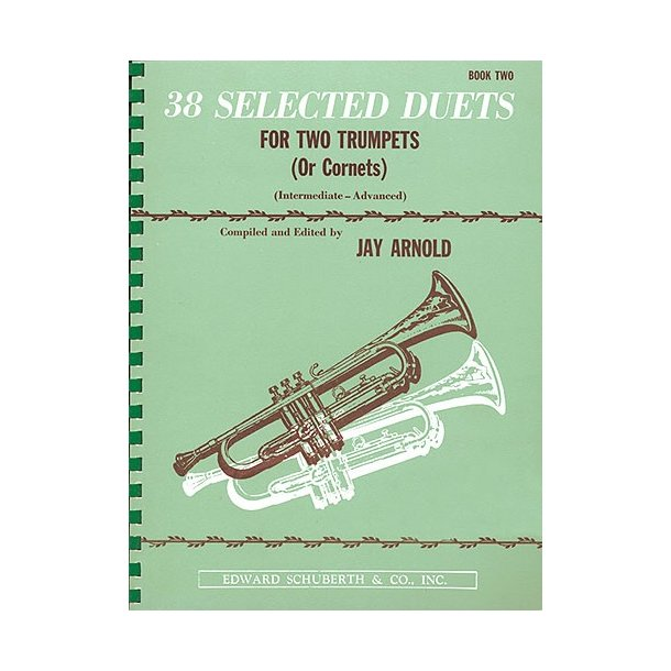 38 Selected Duets For Two Trumpets - Book Two