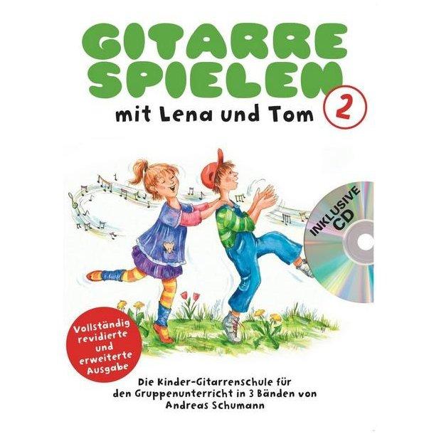 Gitarre Spielen Mit Lena Und Tom - Band 2 (Book/CD) (German)