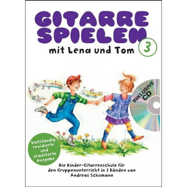 Gitarre Spielen Mit Lena Und Tom - Band 3 (Book/CD) (German)