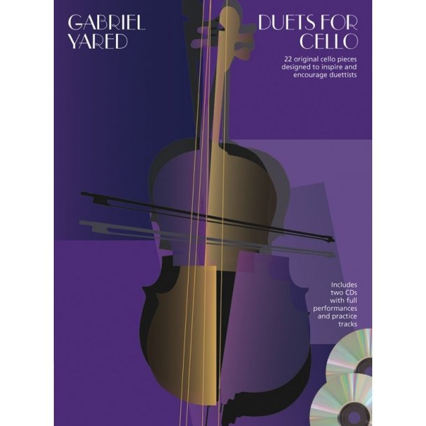 Gabriel Yared: Duets For Cello (Book/2 CDs)