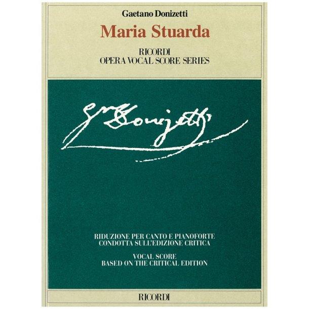 Gaetano Donizetti: Maria Stuarda - Opera Vocal Score