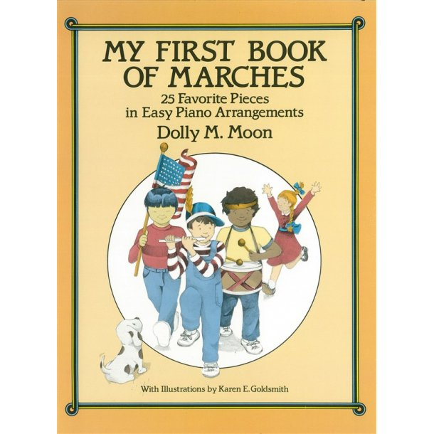 My First Book Of Marches Easy Piano