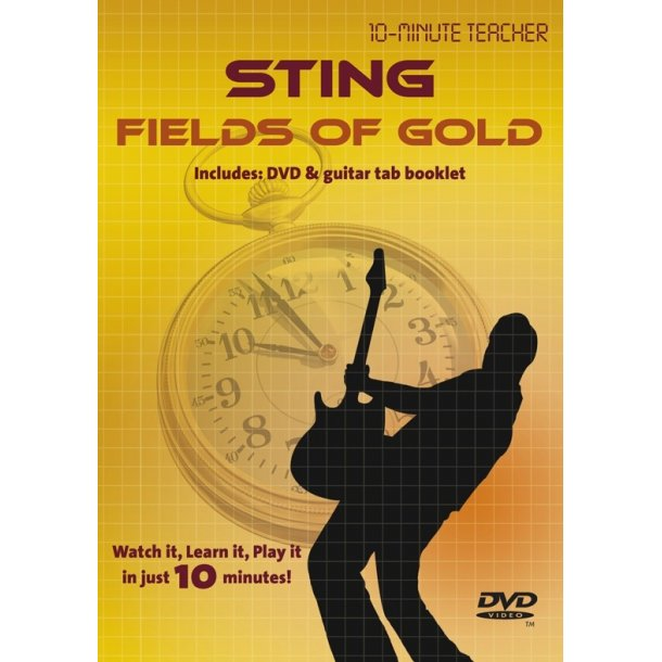 10-Minute Teacher: Sting - Fields Of Gold