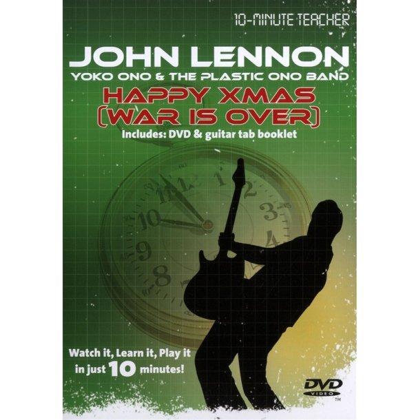 10-Minute Teacher: John Lennon/Yoko Ono - Happy Xmas (War Is Over)