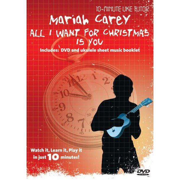 10-Minute Uke Tutor: Mariah Carey - All I Want For Christmas Is You