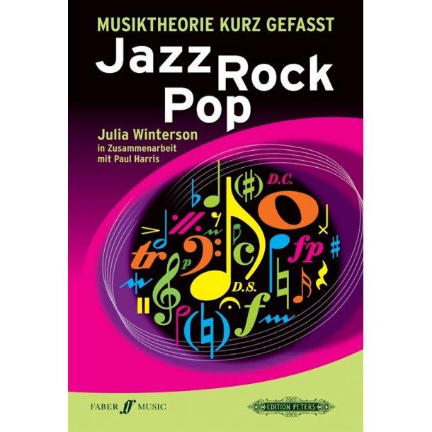 Musiktheorie Kurz Gefasst Jazz Rock Pop