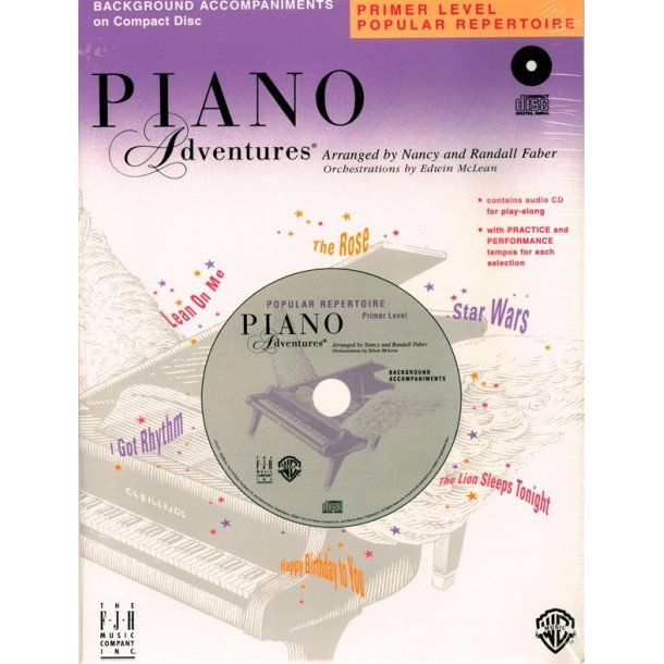 Nancy & Randall Faber: Piano Adventures® Popular Repertoire CD, Primer Level