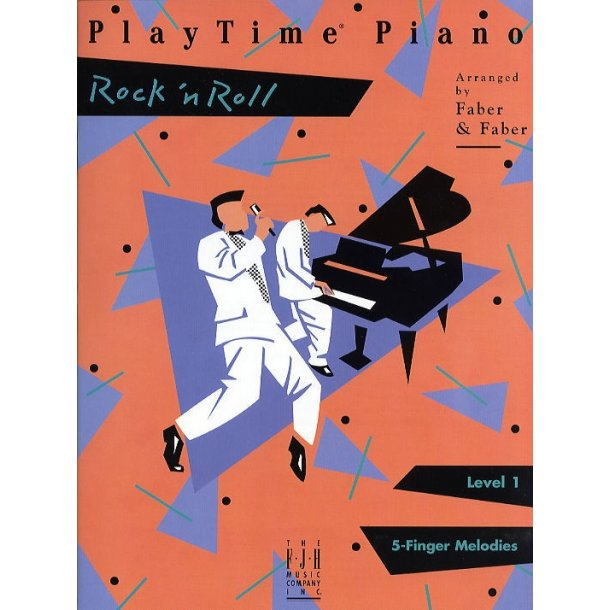Nancy & Randall Faber: PlayTime Piano Rock 'n Roll