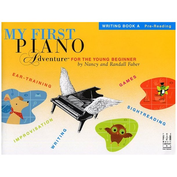 My First Piano Adventure For The Young Beginner: Writing Book A - Pre-Reading