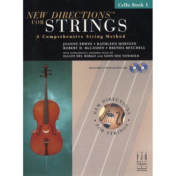 New Directions For Strings: A Comprehensive String Method - Book 1 (Cello)