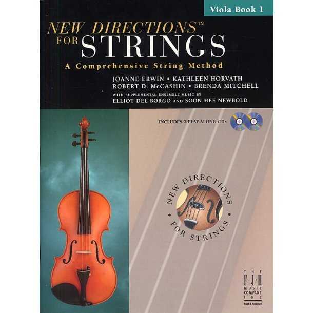 New Directions For Strings: A Comprehensive String Method - Book 1 (Viola)