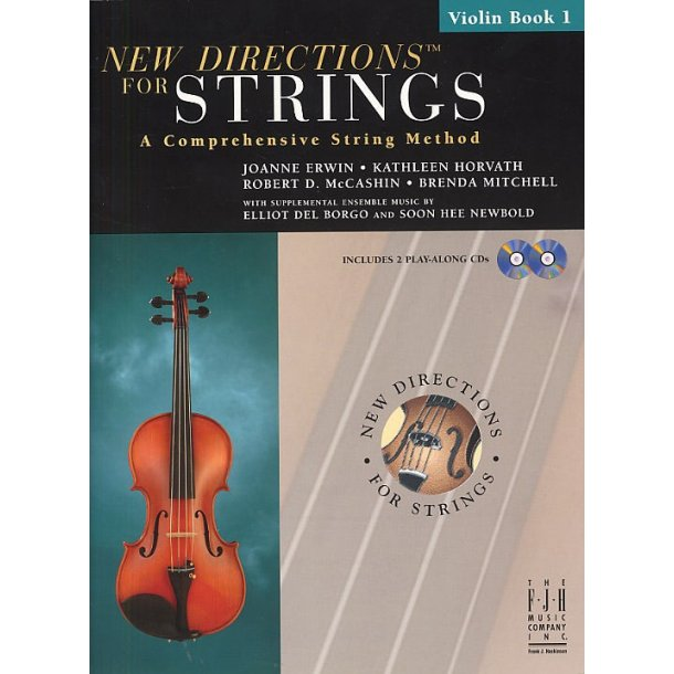 New Directions For Strings: A Comprehensive String Method - Book 1 (Violin)